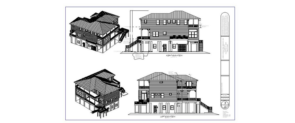 Residential Building Construction Plans